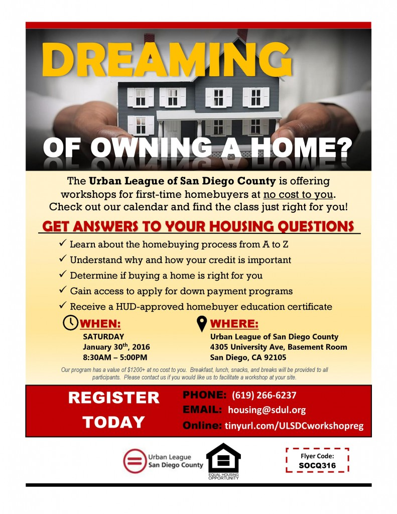 ULSDC Home Buyer Education