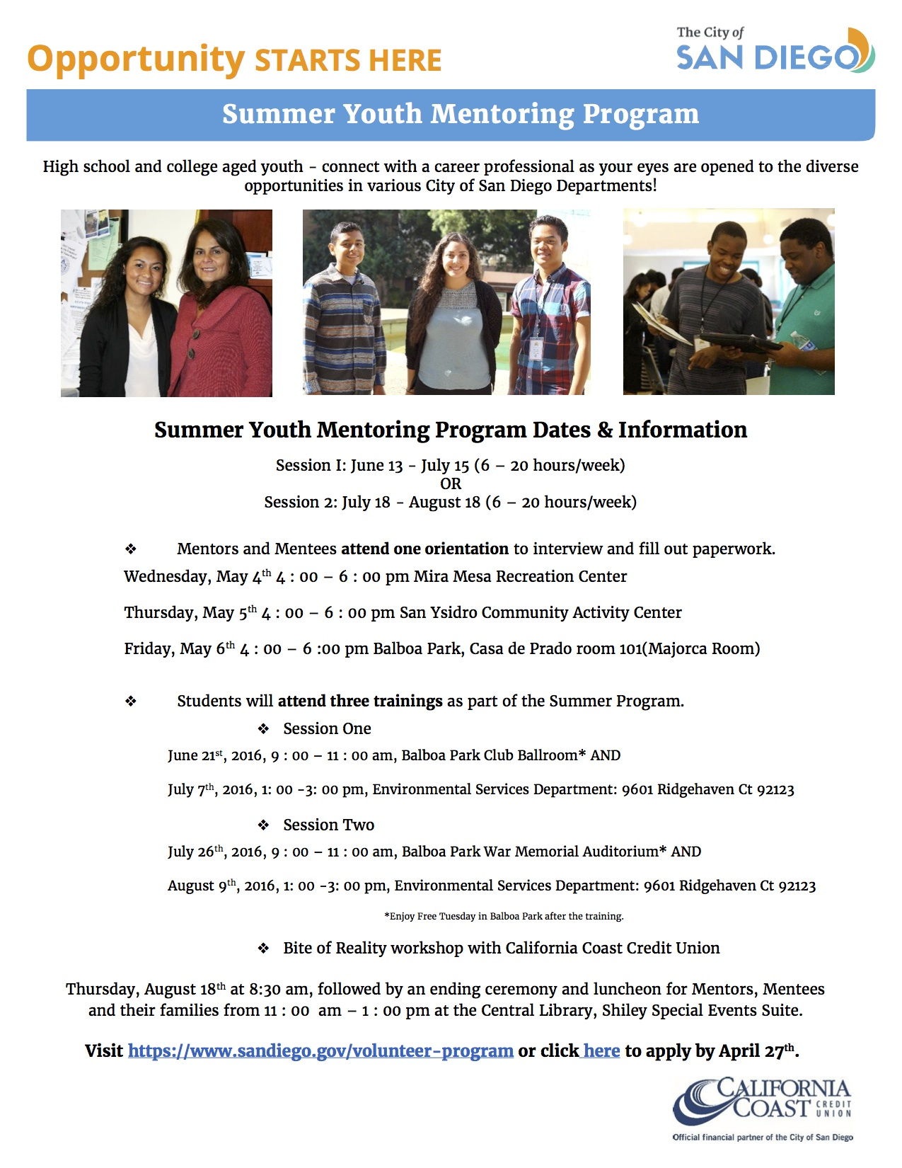 Youth Mentoring Program